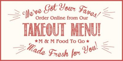 Merchant and Main Takeout Menu